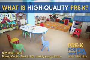 What is High-Quality Pre-K?
