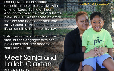Meet Sonja and Lailah Claxton