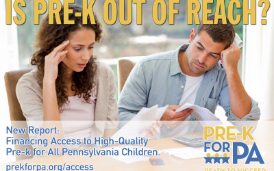 Issue Brief: Financing Access to High-Quality Pre-k