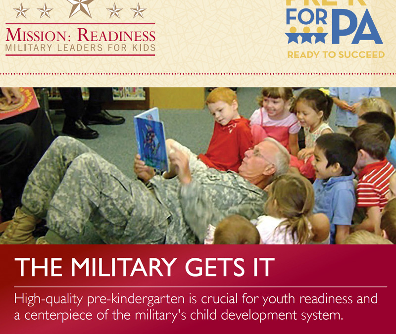 Centre Daily Times op-ed: Military strengthened by early learning
