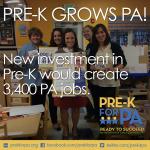 Pre-K Grows PA