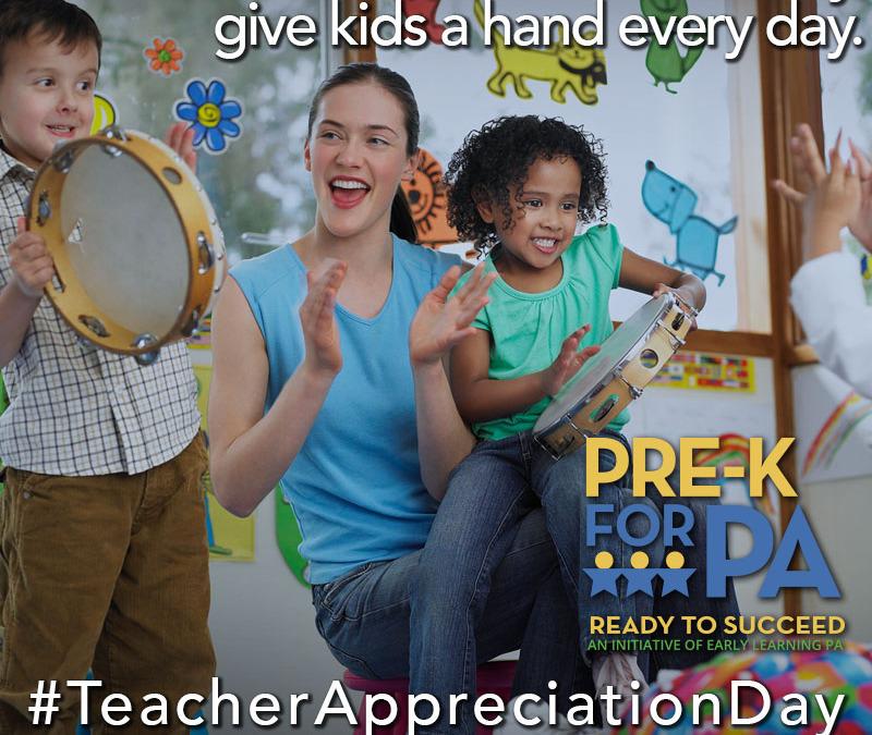 Share : Teacher Appreciation Day