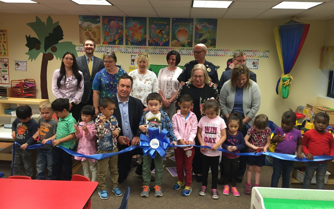 Centre Daily Times: Sen. Jake Corman and County Officials Celebrate New Pre-k Classroom