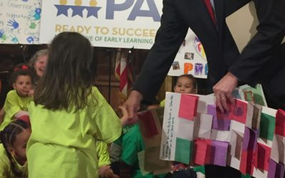 Pre-k Students Thank Governor Wolf for $75 Million Increase for Early Childhood Education in 2017-18 Budget