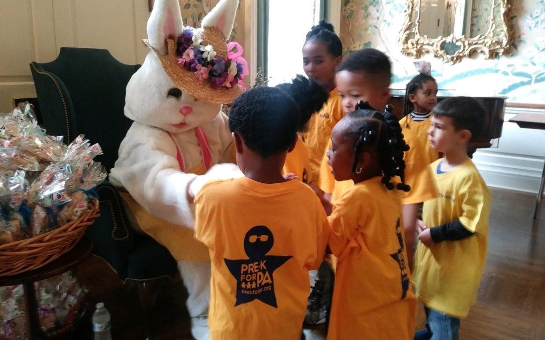 Governor and First Lady Host Annual Easter Egg Event to Highlight Importance of Pre-K Investment